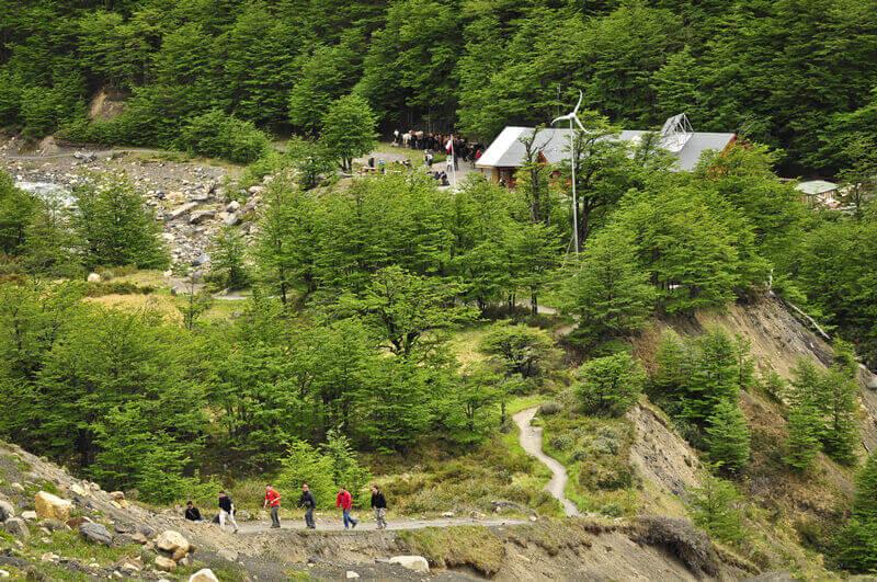 Circuito W Torres Del Paine Camping : El chileno refugio camping circuito w fantástico sur