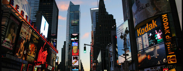 Torres del Paine Advertising takes Times Square in New York