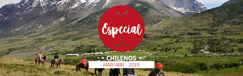 Promoción Especial Chilenos Marzo MAR/ABR - 2019