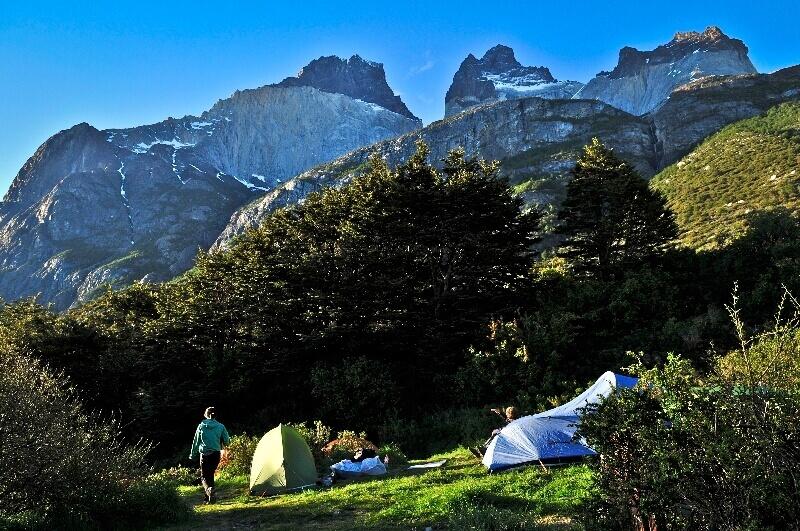 Camping Refugio Los Cuernos