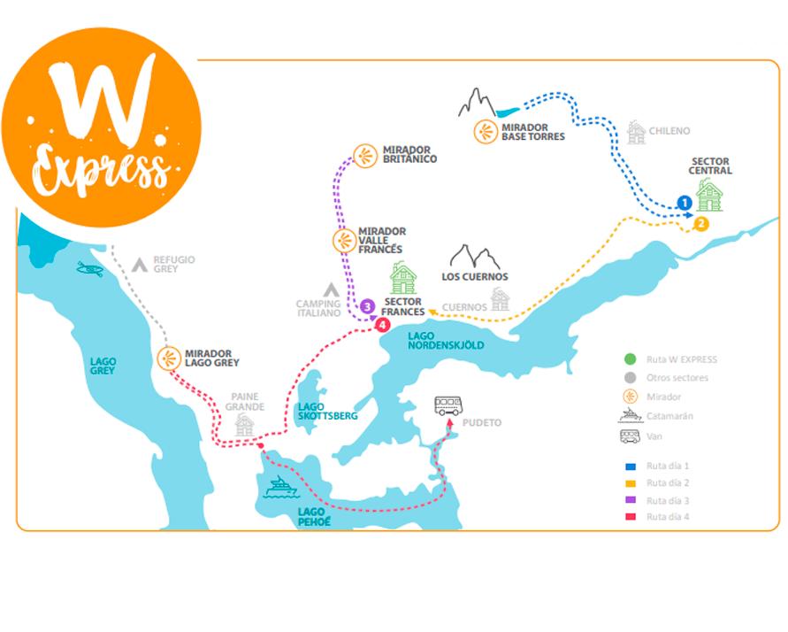 Mapa W Express