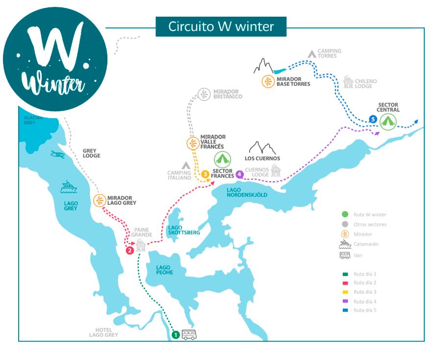 Mapa W Invierno Las Carretas